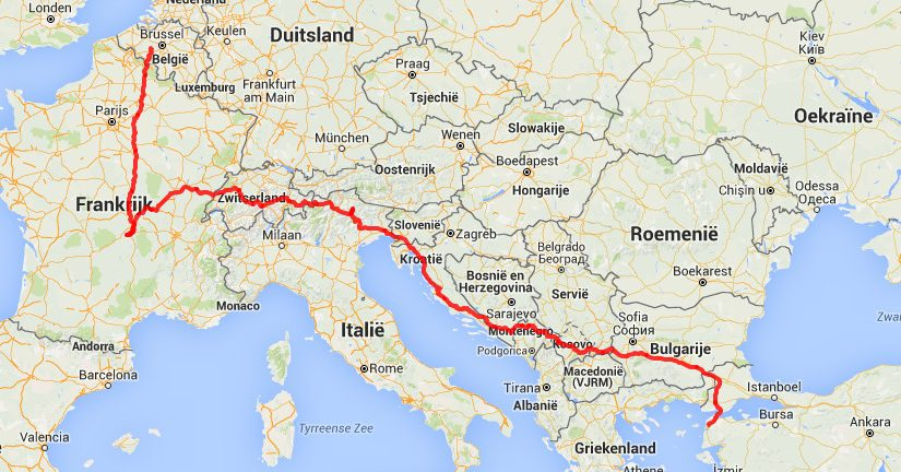 The Transcontinental: lets race Europe! #TCRno4